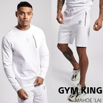 GYM KING GYM KING MILES CREW & MILES SHORT セットアップ