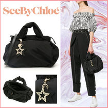 SEE BY CHLOE★Joy Rider Small 2way トート&ショルダーバッグ