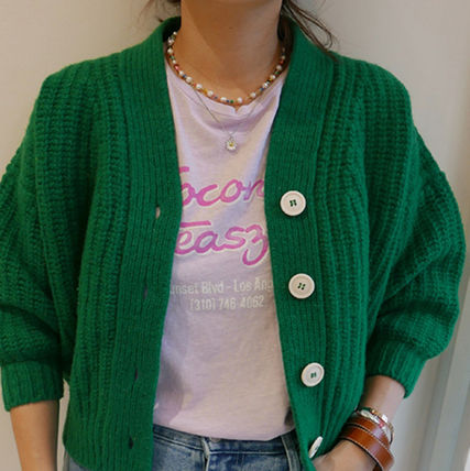 VINTAGE HOLLYWOOD ネックレス・ペンダント Vintage hollywood アイドル人気Pearl n Crystal Beads Necklace(7)