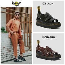【Dr.Martens】☆日本未入荷☆ TERRY LEATHER STRAP SANDALS