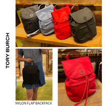 20年夏新作 TORY BURCH★NYLON FLAP BACKPACK