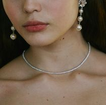 Vintage hollywood★韓国アイドル All Crystal Choker Necklace