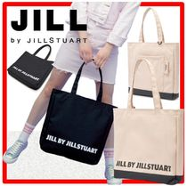 人気☆JILL BY JILLSTUART☆Logo Lettering Shopper Bag☆