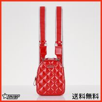 [STRETCHANGELS] Waffle PANINI backpack (Red)