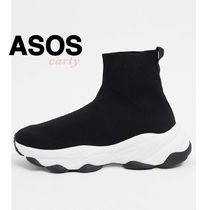 【ASOS】ニットソックススニーカー 送料・関税込み