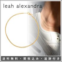 【SALE】Leah Alexandra♦LAYERED CURB ANKLET 14kゴールド