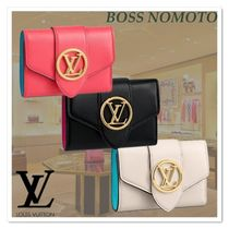 Louis Vuitton 新作 ◇人気 3色★LVPONT9コンパクトウォレット♪
