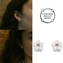 ★REDVELVET★VINTAGE HOLLYWOOD★PETIT FLOWER EARRING