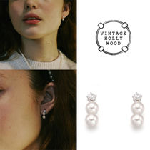 ★REDVELVET★VINTAGE HOLLYWOOD★PETIT PEARL EARRING