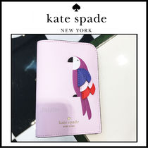 【Kate Spade】♠flock party♠ パスポートケース