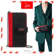 【Christian Louboutin】Loubiflap Chain Case iPhone X/XS