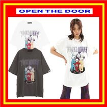 [OPEN THE DOOR]   punk teletubbies 1/2 T (2 color) ◆ 追跡付