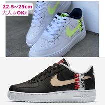 【Nike】AIR FORCE 1 GS★大人もOK !エアフォース「WORLD WIDE」