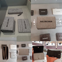 BALENCIAGA Everyday Mini Wallet Glitterミニ財布