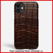 関税送料込☆THE CASEFACTORY☆IPHONE 11 SCURO LARGE PATTERN
