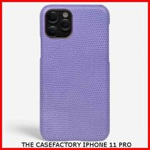 関税送料込☆THE CASEFACTORY☆IPHONE 11 PRO LIZARD MAUVE