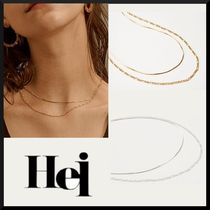 ☆Hei☆ two lines chain necklace 全2色