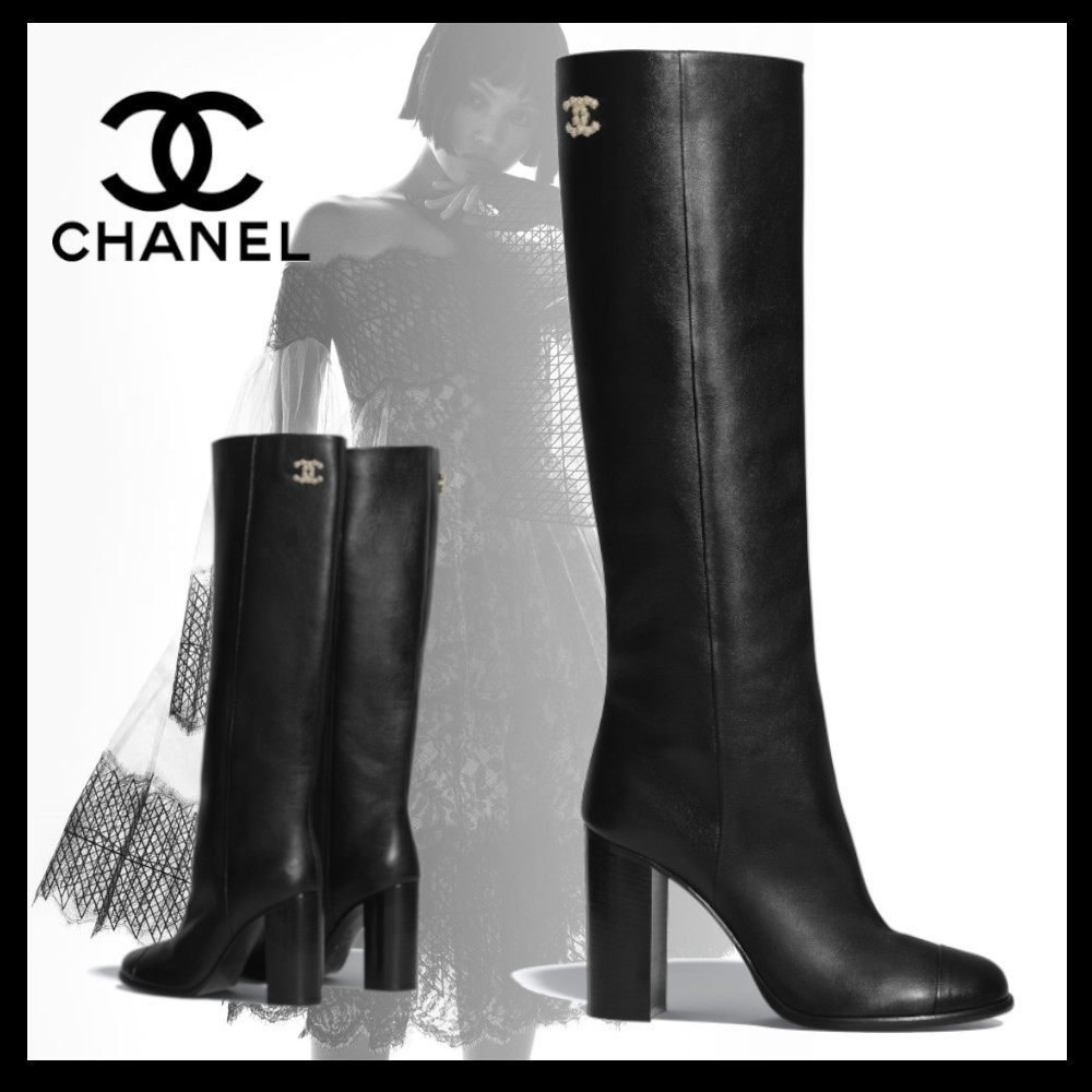 CHANEL 2020-21FW High Boots (G36308