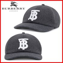 Burberry_embroidered baseball cap☆正規品・関税なし☆