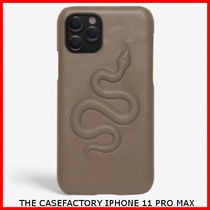 関税送料込☆THE CASEFACTORY☆IPHONE 11 PRO MAX SNAKE CALF