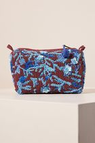 Anthropologie(アンソロポロジー) メイクポーチ Anthropologie☆Shanna Embellished Pouch