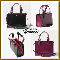【viviennewestwood】国内発☆SIMPLE TINY ORB トートバッグS