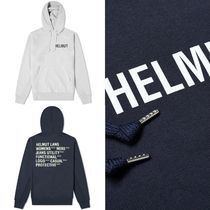 [HELMUT LANG] GLOW IN THE DARK PRINT HOODY 送料関税無料