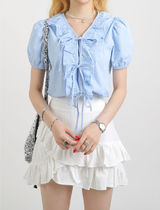 [our_uniform] Alleyed Fill Blouse (2color)