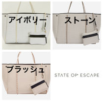 大人気【State of Escape】Escape tote トートバッグ