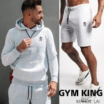 GYM KING BASIS OVERHEAD HOODIE&JERSEY SHORT セットアップ