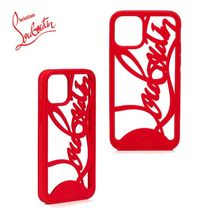 ◆ルブタン直営店◆Louboutin Logo Phone Case Iphone 11 Pro◆