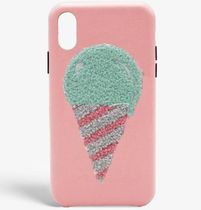 THE CASE FACTORY★S.C IPHONE XR WOOLLY ICECREAM ROSE