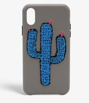THE CASE FACTORY★S.C IPHONE XR WOOLLY CACTUS GREY