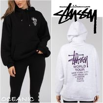 【Stussy】Cities Hooded Sweatshirt オーバーサイズ フーディ