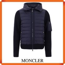 MONCLER HOODED PADDED CARDIGAN
