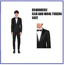 [DSQUARED2] SILK AND WOOL TUXEDO SUIT (送料関税込み)