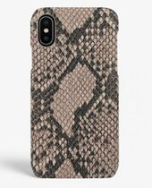 THE CASE FACTORY★IPHONE X/XS SOFT PYTHON CASHMERE ケース