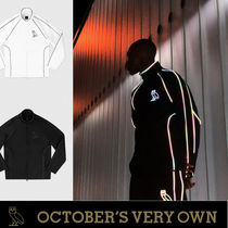 OVO☆Drake監修☆暗闇反射  REFLECTIVE PIPING JACKET