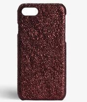THE CASE FACTORY★IPHONE SE/7/8 CRUSHED METALLIC BURGUNDY