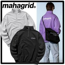 ★送料・関税込★mahagrid★HALF ZIP SWEAT SHIRTS★3色★