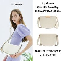 【Joy Gryson】Clair LUX Cross Bag_IVORY(LW0SA7160_03)