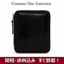 COMME des GARCONS コムデギャルソン 水玉 エンボス  財布