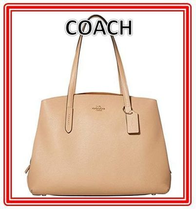 Coach マザーズバッグ 関税.送料込 COACH Polished Pebble Leather Charlie 40 トート