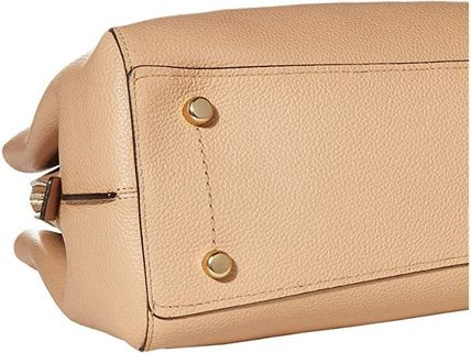 Coach マザーズバッグ 関税.送料込 COACH Polished Pebble Leather Charlie 40 トート(5)