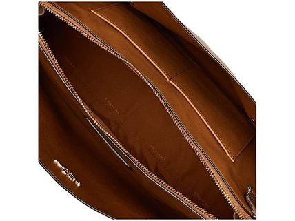Coach マザーズバッグ 関税.送料込 COACH Polished Pebble Leather Charlie 40 トート(6)