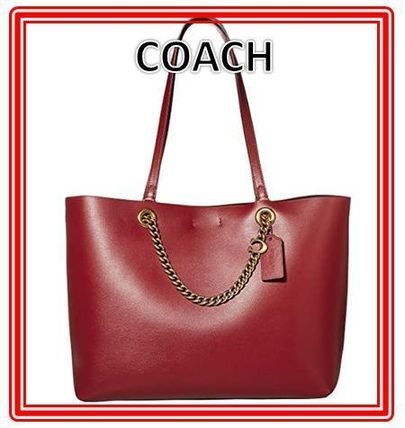 Coach マザーズバッグ 関税.送料込 COACH Signature Chain Convertible Tote トート