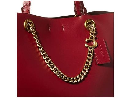 Coach マザーズバッグ 関税.送料込 COACH Signature Chain Convertible Tote トート(4)