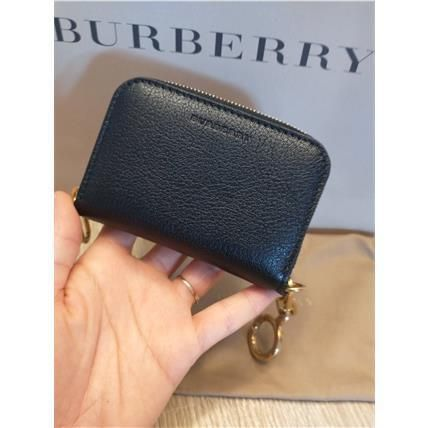 Burberry♪SALE♪カードケース★リング付き