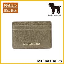 【Michael Kors】Pebbled Leather Card Case◆国内発送◆