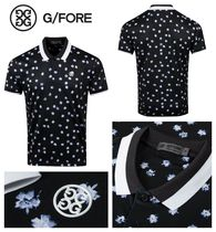 【G FORE】新作! Stellar Floral ポロシャツ- AW20